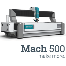 超高圧ウォータージェット加工機「Mach 500 シリーズ」 製品画像