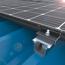 【太陽光架台】アルミ・シリーズ『D-FOURS重ね式折版 AL』 製品画像