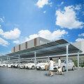 【両面発電モジュール採用ソーラーカーポート】Dulight産業用 製品画像