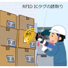 棚卸作業向け『UHF帯RFID ICタグの活用ソリューション』 製品画像