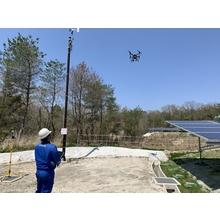 太陽光発電所 ドローンを使用した太陽光モジュールの赤外線検査 製品画像