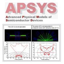 半導体デバイス用汎用2D/3D有限要素解析・設計ソフトAPSYS 製品画像