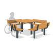 テーブルベンチセット 製品画像
