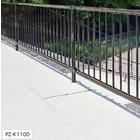 【歩道用防護柵】ガードフェンス 丸格子型 製品画像