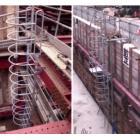 垂直タラップ『ラックステップ(背枠付タラップ)』 製品画像