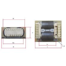 コイルボビン式巻鉄心変圧器『NCWトランス(横置き型)』 製品画像