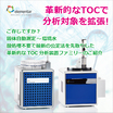 固体連続測定~環境水 TOC分析装置ファミリーのご紹介 製品画像