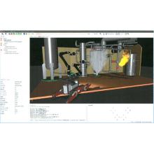 ソフトウェア『模擬プラント用ロボットシミュレータ』 製品画像
