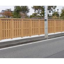 木製板塀『木塀(千鳥/横張)』 製品画像
