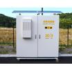 収納盤『独立電源式 屋外温度制御 収納盤』 製品画像