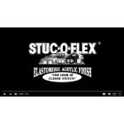 スタッコフレックスを動画で紹介「スタッコフレックス伸縮性能実験」 製品画像