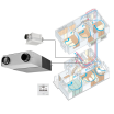 IAQ制御 熱交換気システム(天井・床下埋込形) 製品画像