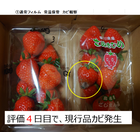 イチゴ用鮮度保持フィルム『アイッシュ』 製品画像