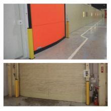 【事例】MPM樹脂ガード〔ガードポール〕工場や物流倉庫用安全対策 製品画像