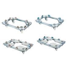 1台で様々なサイズのコンテナに対応可能!伸縮自在のコンテナ台車 製品画像