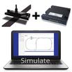 『AGV(無人搬送車)用磁気誘導センサ/モータコントローラ』 製品画像