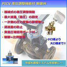 PICV:差圧調整機能付 制御弁 製品画像