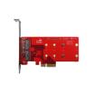 PCIe-デュアルM.2変換アダプタ【ELPS-3201】 製品画像