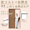 高齢者施設向け自閉式引き戸『スロープスライドドア』 製品画像