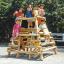 木製遊具 丸太砦 MR-75520 製品画像