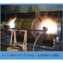 『高Crステンレス溶射による低温加工・厚膜補修』 製品画像