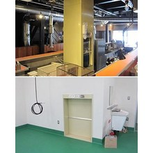 荷物用リフト『小荷物専用昇降機(ダムウェーター)』 製品画像