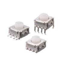 TP618シリーズ、IP67ボディーのLED照光式タクトスイッチ 製品画像