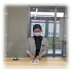飛沫感染対策用『パーテーション』(国産透明アクリル製) 製品画像