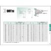回転用シール『ヘキサシールDRT/DYR/DGA型』のサイズ表 製品画像