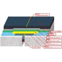 性能照査試験に準拠した「埋設型伸縮装置工」「塗膜系床版防水工」 製品画像