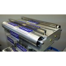 紙つなぎ台付、全エアー式エッジガイド装置 製品画像