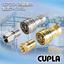 不活性ガス・真空用 迅速流体継手『SP-Vカプラ Type A』 製品画像