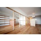 内装ドア 見えないものを仕切る『木製ガラス引き戸』 製品画像