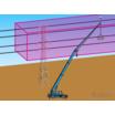 施工領域安全監視システム【3Dバリア】 製品画像