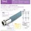 【TH42】NBRホワイトラバーホース ◆東葛テクノ株式会社 製品画像