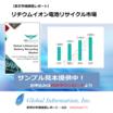 【英文市場調査レポート】リチウムイオン電池リサイクル市場 製品画像