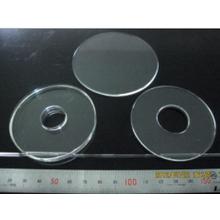 【ガラス加工事例】全面鏡面品 特殊装置全反射盤 内径部研磨 製品画像