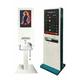 デジタルサイネージ付き非接触ハンド除菌ディスペンサー 製品画像