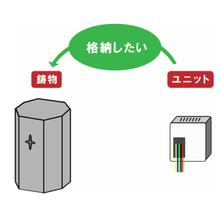 【アルミ鋳物の活用事例】中空鋳物の活用例 製品画像