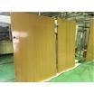【塗装のチカラ】大型重量扉への木目塗装 塗装でイメージチェンジを 製品画像