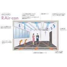 キクカワ 輻射冷暖房システム 自然の原理を利用した先進空調! 製品画像