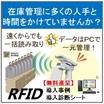 在庫管理のお悩みを一瞬で解決!RFID導入簡易診断シート進呈 製品画像