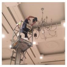 【ホテル・介護施設向けサービス】ICWC(壁/天井清掃システム) 製品画像