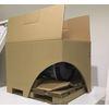 段ボールパレット「ナビパレット」 モーターのオール段ボール梱包 製品画像