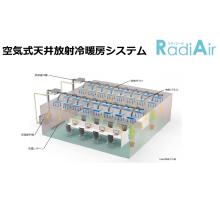 空気式天井放射冷暖房システム「ラディエール」 製品画像