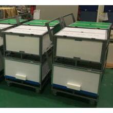 プラスチック通い箱|重量物運搬台車|工程内運搬台車 製品画像