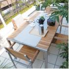 屋外用家具・ガーデンファニチャー「ライズ」【天然木製】 製品画像