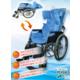 介護・病院向け|車椅子で頭部のサポートができる『姿勢保持マット』 製品画像