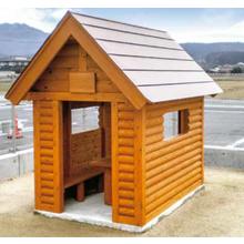 【木製】キッズハウス【こども園、保育園、幼稚園、遊園地など】 製品画像