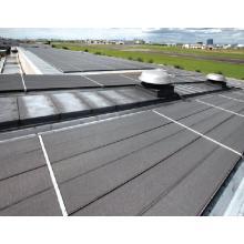 ハゼ折板屋根 グリッパー工法『ルーフシェード』 製品画像